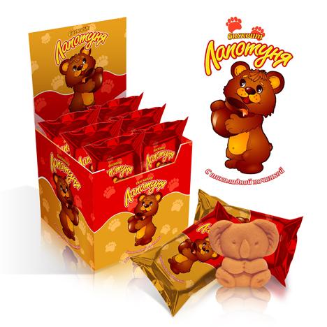Упаковка для фабрики кондитерских изделий «Северянин»/2011