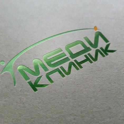 Логотип для клинико-диагностического центра «МЕДИКЛИНИК»