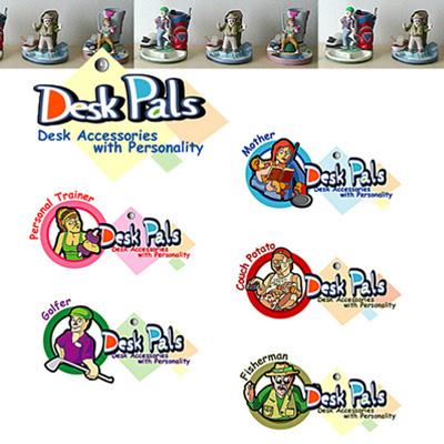 Логотип для компании «Desk Pals»