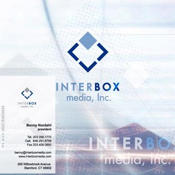 Логотип для компании «InterBox media»