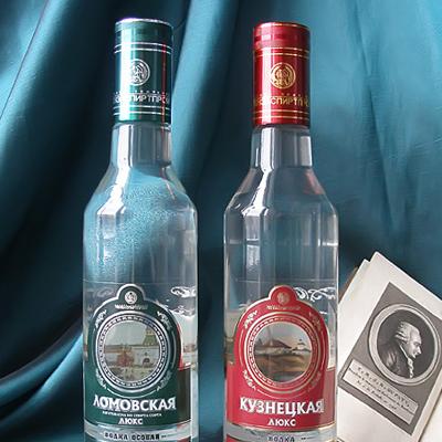 Кузнецкая и Ломовская водка